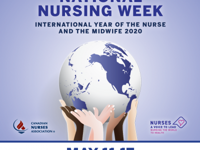 national nurse week poster