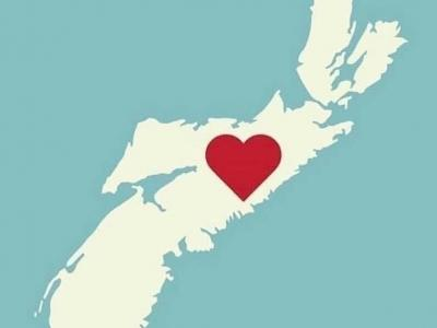 heart over NS